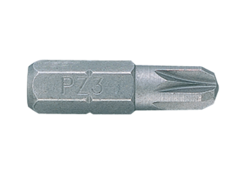 "1/4"" Bit (POZIDRIV head) KING TONY 1025Z"
