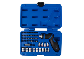 "55 PC. 1/4""DR. Ratchet Screwdriver Set KING TONY 2555MR"