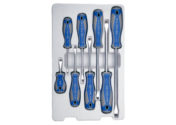 8 PC. Slotted Screwdriver Set KING TONY 30118MR