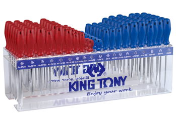 114 PC. Standard Screwdriver Shelf Set KING TONY 31519MR