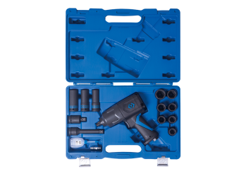 "15 PC. 1/2""DR. Composite Impact Wrench & Impact Socket Set KING TONY 44803BMP"