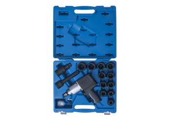 "18 PC. 3/4""DR. Impact Socket & Wrench Set KING TONY 64114BMP"