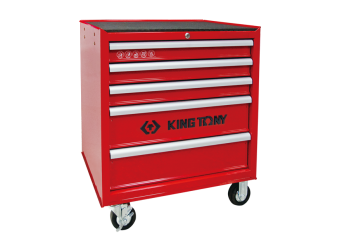 5 Drawers Ball Bearing Type Tool Trolley KING TONY 87431-5BE