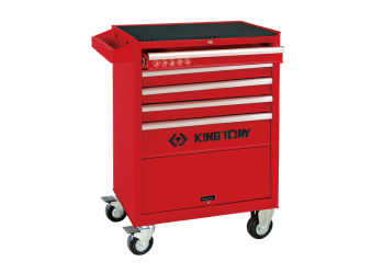 5 Drawers Risk-Free Tool Trolley KING TONY 87432-5G