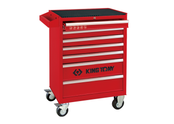7 Drawers Risk-Free Tool Trolley KING TONY 87434-7G