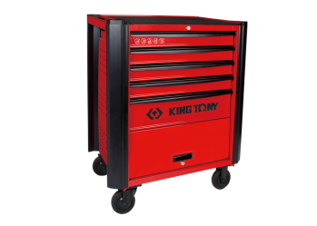 5 Drawers Classic Bumper type Tool Trolley KING TONY 87632-5B