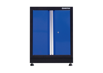 Opened Door Cabinet (black & blue) KING TONY 87D21-03A-KB