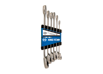 6 PC. Ringstop Speed Wrench Set KING TONY P12A06MRS01