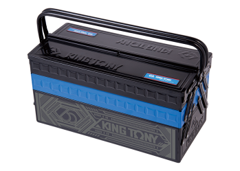 3 Section Fold Up Type Portable Tool Box KING TONY P87A05-KB