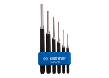 6 PC. Pin Punch Set KING TONY 1006APR