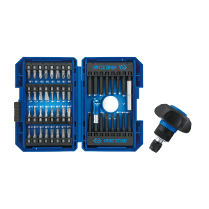49 PC. Palm Ratchet Screwdriver Set KING TONY 1048MR