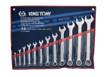 12 PC. Combination Wrench Set KING TONY 1212MR01