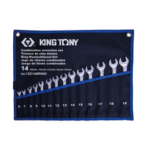 14 PC. Combination Wrench Set KING TONY 12D14MRN05