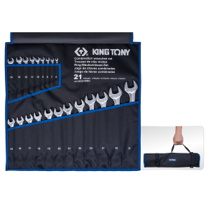 21 PC. Combination Wrench Set KING TONY 12D21MRN