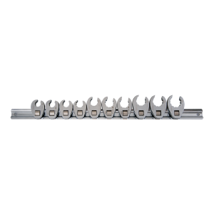 10 PC. Crowfoot Wrench Set KING TONY 1E10MR