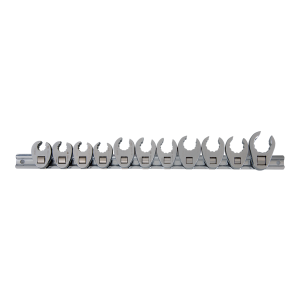 11 PC. Crowfoot Wrench Set KING TONY 1E11MR