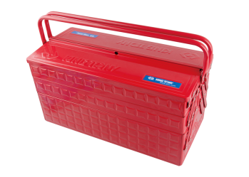 3 Section Fold Up Type Portable Tool Box KING TONY 87A05