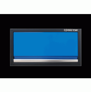 Wall Cabinet (black & blue) | KING TONY | 87D11-01A-KB