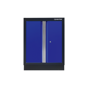 Opened Door Cabinet (black & blue) | KING TONY | 87D11-03A-KB