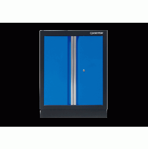 Opened Door Cabinet (black & blue) KING TONY 87D11-03A-KB
