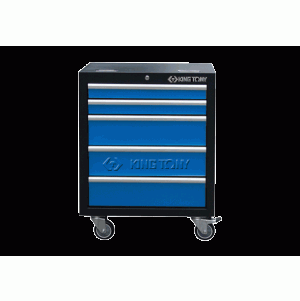 5 Drawers Cabinet (black & blue) | KING TONY | 87D11-12A-KB