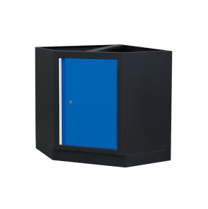 Corner Bottom Cabinet (black & blue) | KING TONY | 87D11-13A-KB
