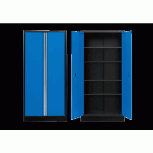 Tall Cabinet (black & blue) | KING TONY | 87D11-18A-KB