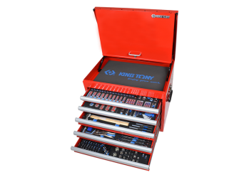 306 PC. Tool Trolley Set KING TONY 919-001CRV