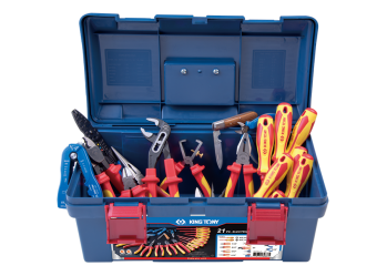 21 PC. Electrician Tool Box Set KING TONY 97121PQ