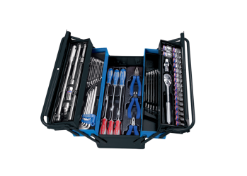 62 PC. Tool Box Set KING TONY 9A05-062MR-KB