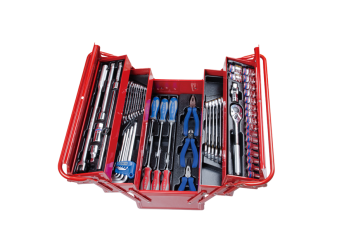 62 PC. Tool Box Set KING TONY 9A05-062MR
