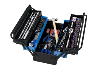 65 PC. Tool Box Set KING TONY 9A05-065MR-KB