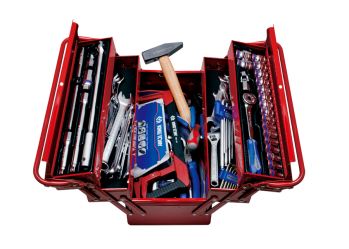 88 PC. Tool Box Set KING TONY 9A05-089MR01