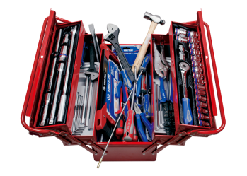 132 PC. Tool Box Set KING TONY 9A05-132CR