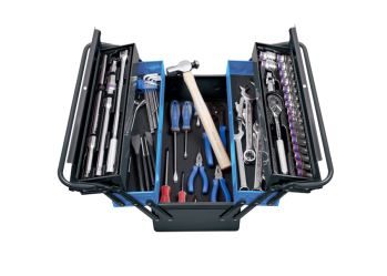 63 PC. Tool Box Set KING TONY 9A05-164MR-KB