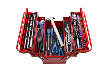 63 PC. Tool Box Set KING TONY 9A05-164MR