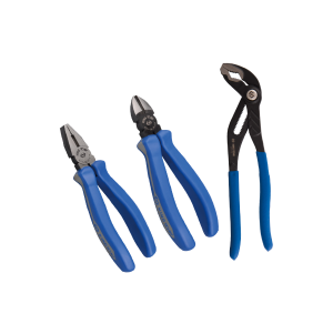 3 PC. European Type Pliers Set KING TONY P42123GP1