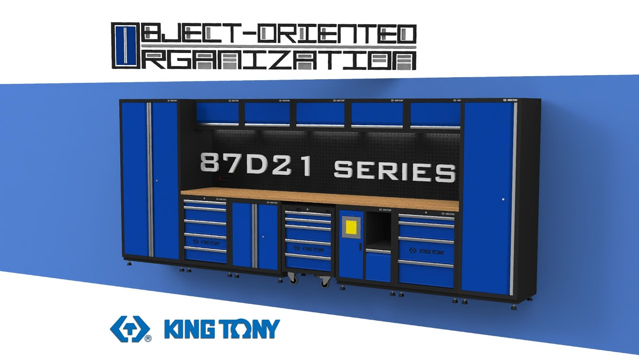 KING TONY-87D21-tool cabinet system