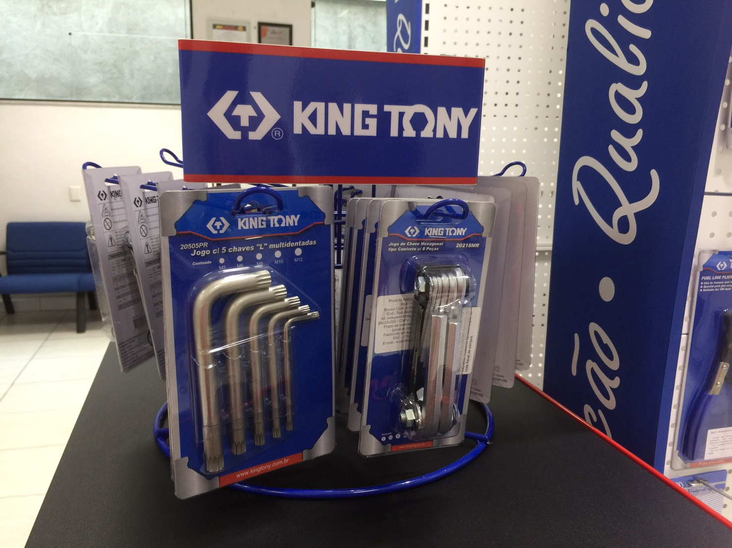 KING TONY tools display - 02