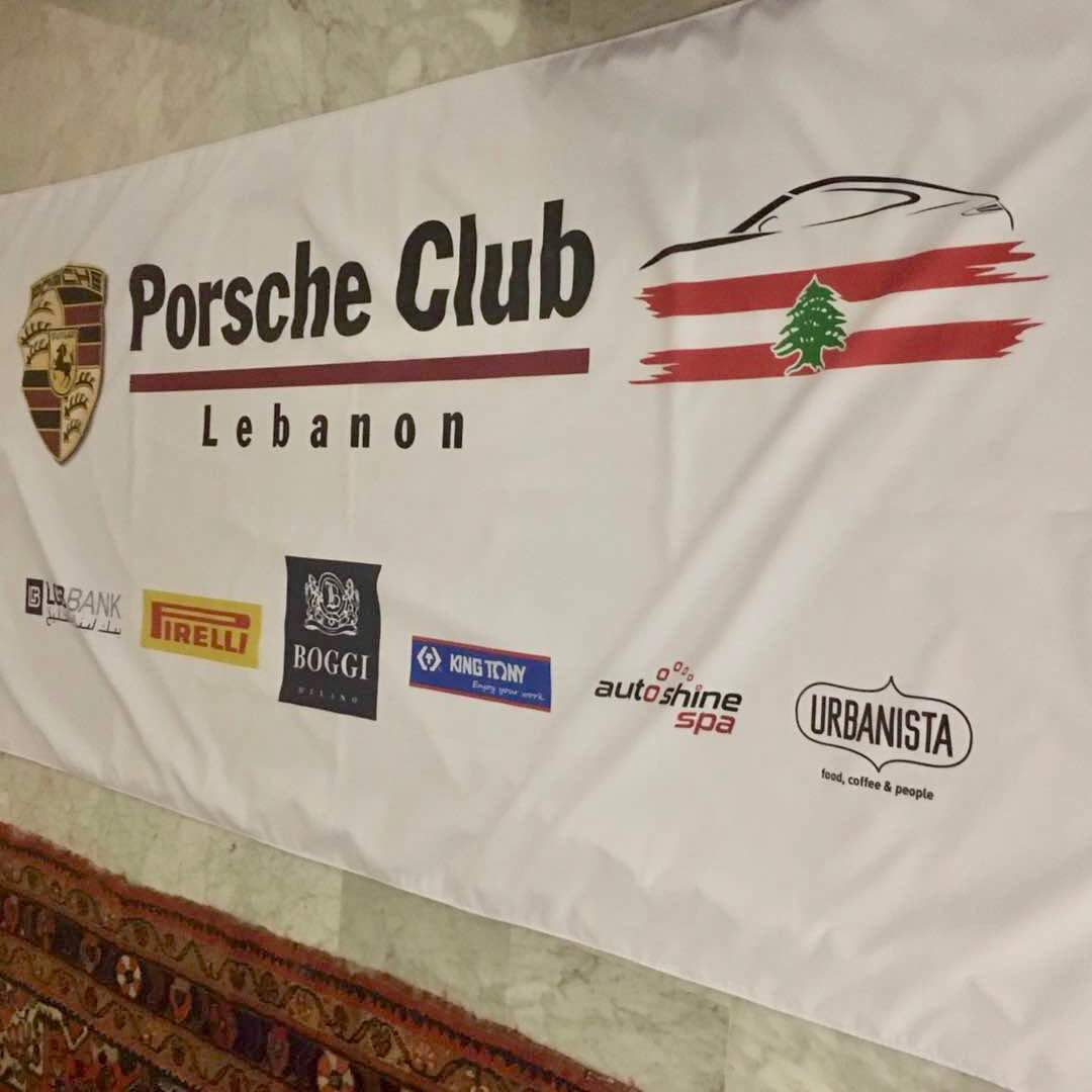 KING TONY sponsor Porsche Club