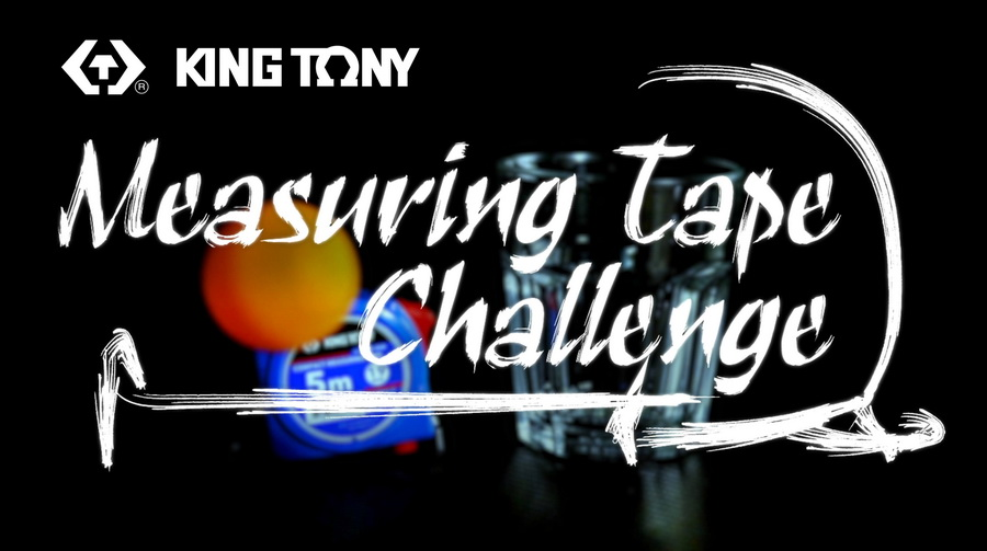 KING TONY Measuring Tape x Ping Pong Ball Challenge
