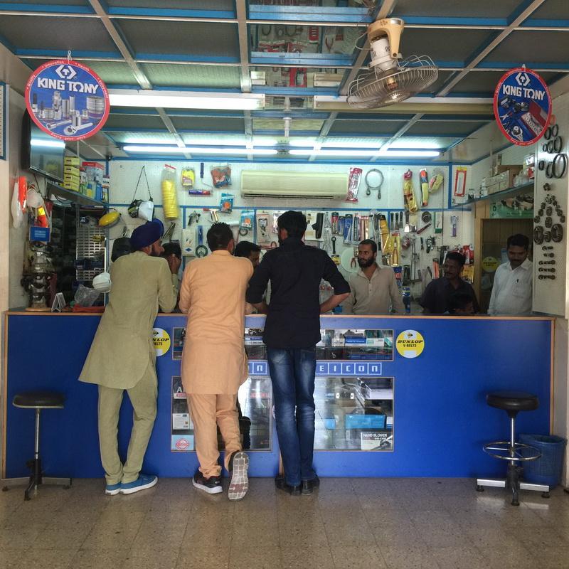 The KING TONY tools store is in Oman KING TONY