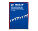 10 PC. Ultra-Light Long Combination Wrench Set | KING TONY | 12A0MRN