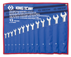 13 PC. Ultra-Light Long Combination Wrench Set | KING TONY | 12A3MRN