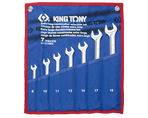 7 PC. Ultra-Light Long Combination Wrench Set | KING TONY | 12C7MRN