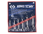 5 PC. 45° Offset Ring Wrench Set | KING TONY | 1626MR