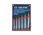 6 PC. 75° Offset Ring Wrench Set | KING TONY | 1706MR