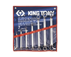 7 PC. 75° Offset Ring Wrench Set | KING TONY | 1707SR