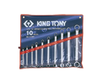 10 PC. 75° Offset Ring Wrench Set | KING TONY | 1710MR
