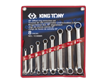 8 PC. straight offset box end wrench set | KING TONY | 1C08MR